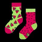 Весели детски чорапи Червена диня