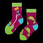 Vesele dječje čarape Kameleon