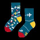 Živahne otroške nogavice Letala
