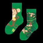 Veselé dětské ponožky Opice