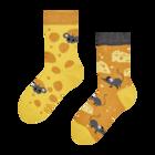 Veselé dětské ponožky Sýr