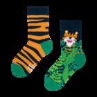 Chaussettes rigolotes pour enfants Tigre