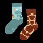 Весели детски чорапи Жираф