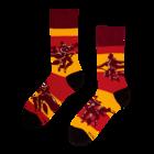 Chaussettes rigolotes Harry Potter ™ Quidditch