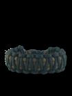 Schwarz-braunes Paracord Armband King Cobra