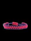 Brățara microcord vilolet-roz King Cobra
