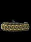 Paracord-armband Multicam M met vuurstarter, kompas en fluitje