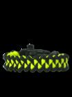 Zwart & geel Paracord-armband Haai met vuurstarter, kompas en fluitje