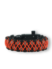 Paracord Armband mit Feuerschäger, Kompass und Pfeife Galaxy