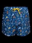Vesele muške kupaće hlače Surfanje