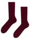 Burgundy Bamboo Socks