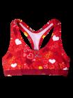 Women's Bralette Hearts