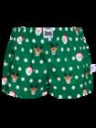 Women's Boxer Shorts Santa & Rudolph