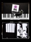 Gift Box Piano Cat