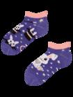 Živahne otroške kratke nogavice Čarobni zajček
