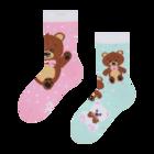 Lustige Kindersocken Teddybär
