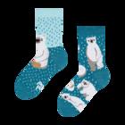 Vesele dječje čarape Polarni medvjedi