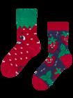 Veselé dětské ponožky Šťastné jahody