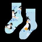 Veselé dětské ponožky Šťastný tučňák