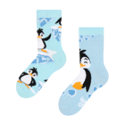 Vesele dječje čarape Sretan pingvin