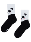 Vidám meleg gyerek zokni Boldog panda
