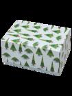 Klasyczne pudełko na prezent świąteczny