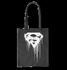 Canvas Tote Bag Superman™ Black and White Logo
