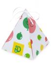 Pudełko na prezent w kształcie piramidy imprezowe balony