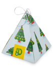 Scented Pyramid Gift Box Christmas Tree