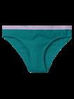 Smaragdovo zelené dámske nohavičky
