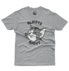 T-Shirt Tom & Jerry Always Right
