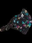 Živahna protibakterijska zaščitna maska Luči v dežju - večja velikost