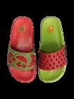 Lustige Pantoletten für Kinder Wassermelone