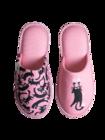 Živahni copati Roza mačke