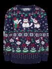 Sudadera alegre de Navidad Gatos navideños