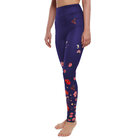High Waisted Leggings Flowers and Butterflies