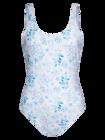 Wesoły jednoczęściowy strój kąpielowy dla kobiet Pastele