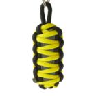 King Cobra Reflektierender Paracord Schlüsselanhänger - gelb
