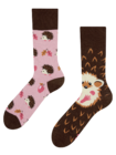 Vesele čarape Ježić