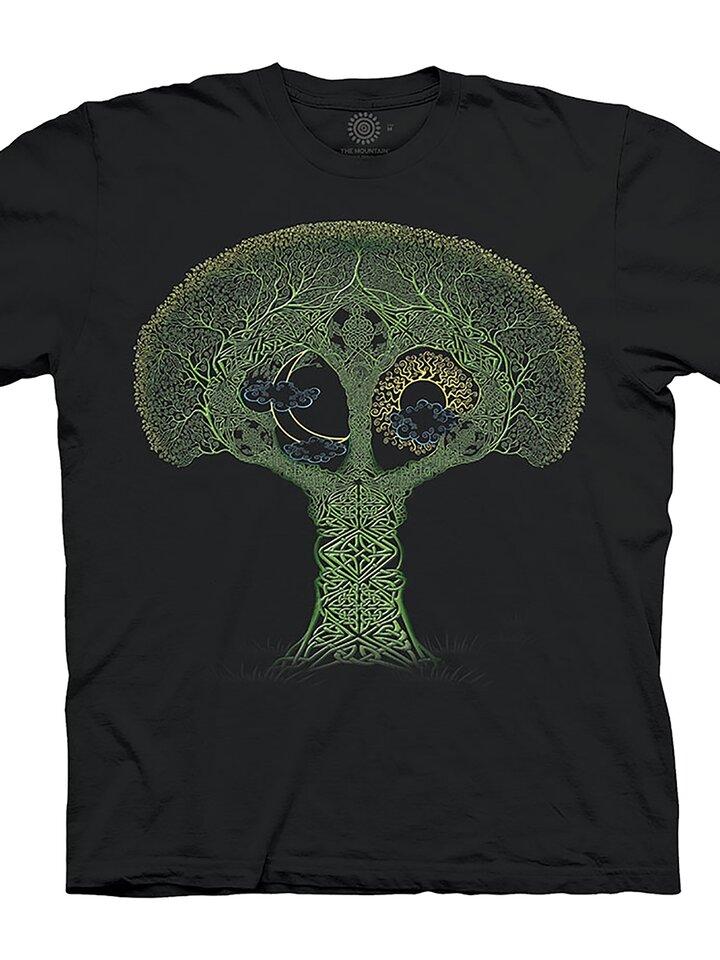 Pre dokonalý a originálny outfit Tričko Strom