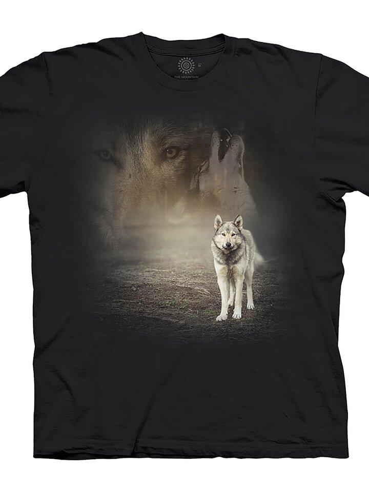 Lifestyle foto Tričko Šedý vlk