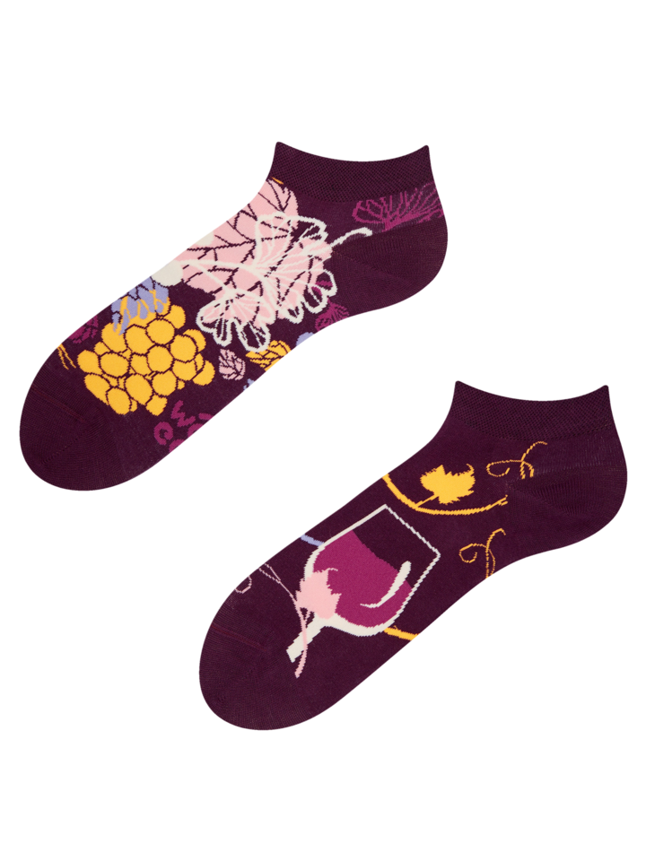 Original gift Ankle Socks Red Wine