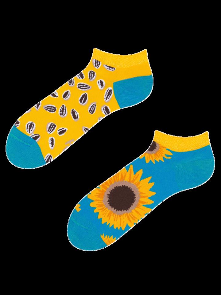 Ausverkauf Lustige Knöchelsocken Sonnenblume