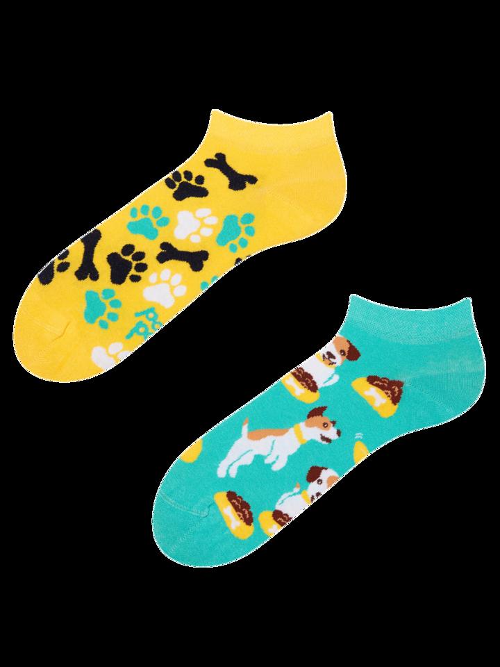Pre dokonalý a originálny outfit Ankle Socks Happy Dog