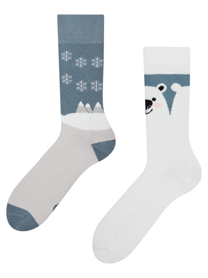 Sale Warm Socks Polar Bear