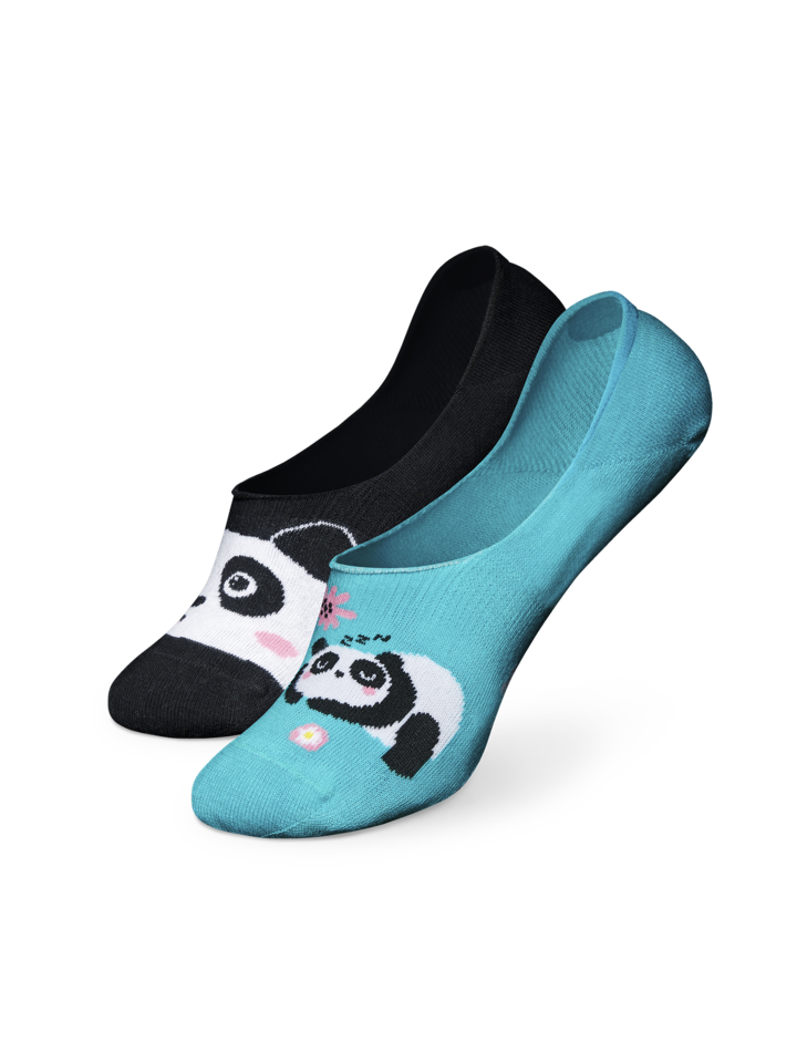 Looking for an original and unusual gift? The gifted person will surely surprise with No Show Socks Panda