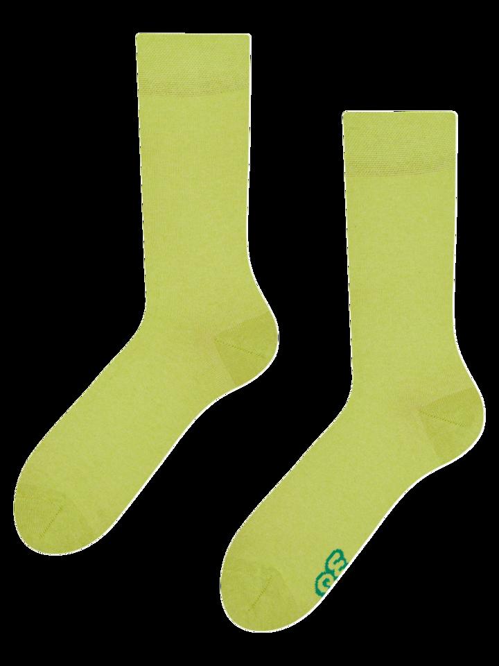 Foto Újrahasznosított pamut zokni Limonádé