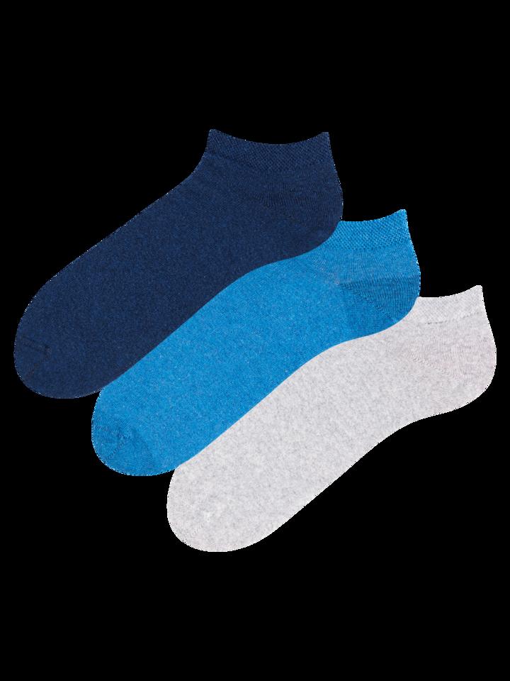 Potěšte se tímto kouskem Dedoles Trojbalení kotníkových ponožek z recyklované bavlny Vizionář