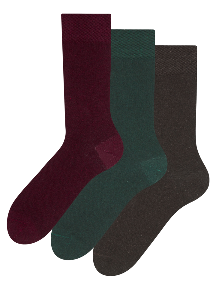 Sale Recycled Cotton Socks 3-pack Gentleman