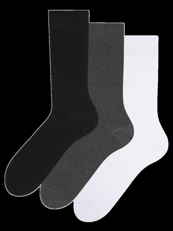 Obrázok produktu 3-pack sokken van gerecycled katoen Klassieker